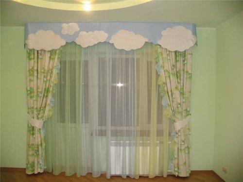 Оформление окна в детской. Фото 8