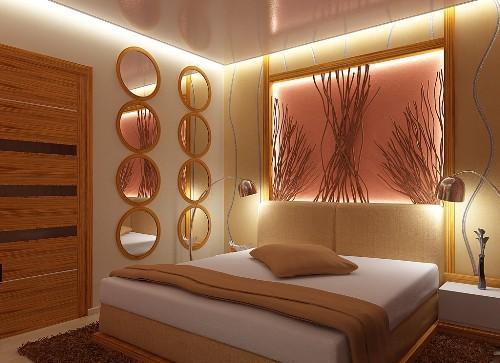 Освещение спальни. Фото 10