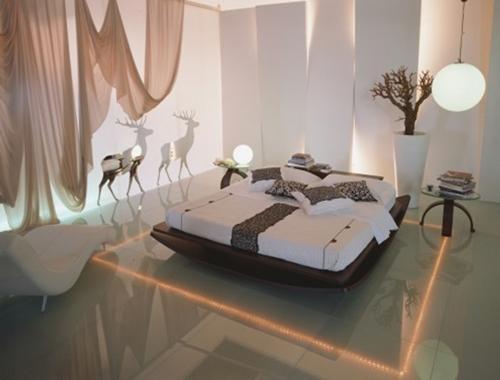 Освещение спальни. Фото 11