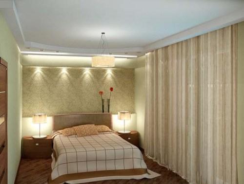 Освещение спальни. Фото 12