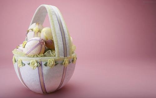 Пасхальные корзинки. Фото 15
