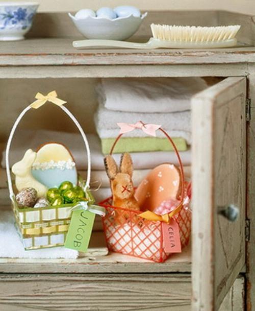 Пасхальные корзинки. Фото 6
