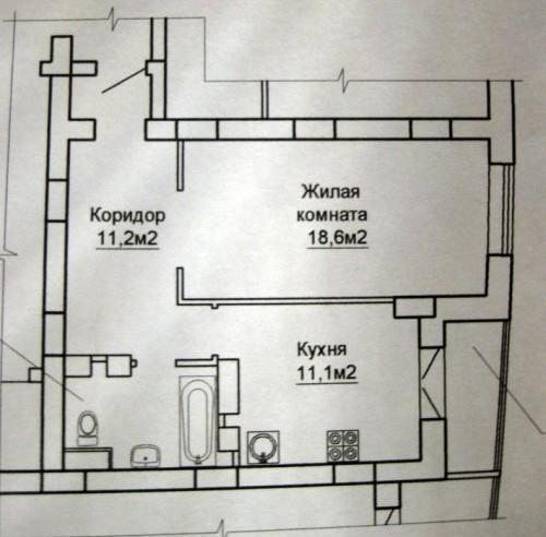 Перепланировка однокомнатной квартиры Все нюансы