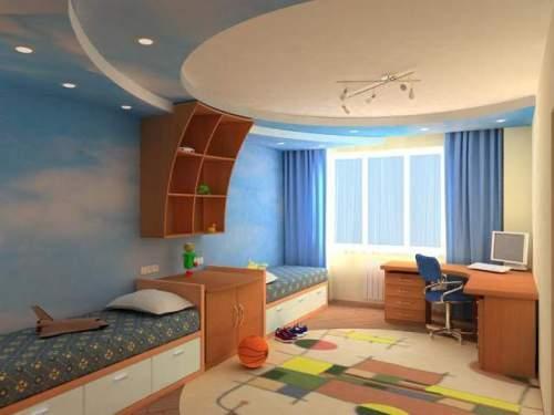 Планировка детской комнаты. Фото 10