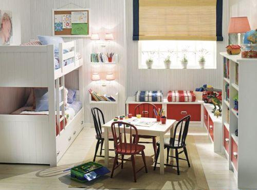 Планировка детской комнаты. Фото