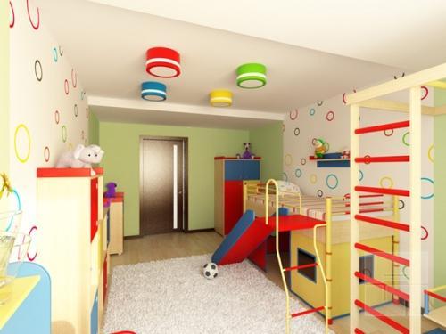 Планировка детской комнаты. Фото 4