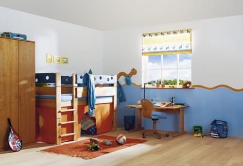 Планировка детской комнаты. Фото 5