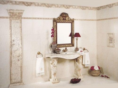 Плитка в ванную. Фото