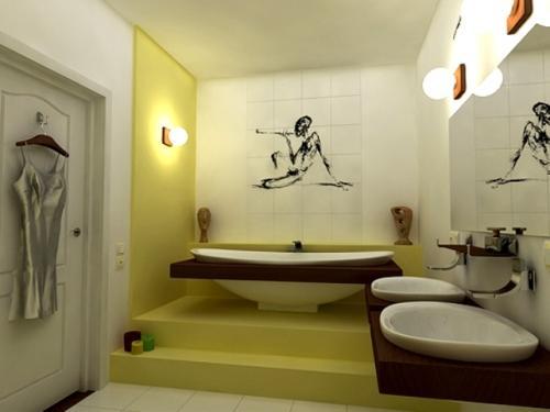 Плитка в ванную комнату. Фото 11