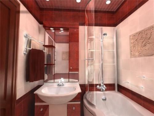 Плитка в ванную комнату. Фото 12