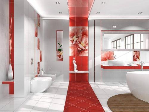 Плитка в ванную комнату. Фото 2