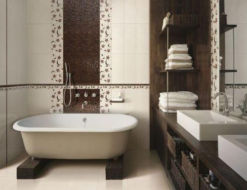 Плитка в ванную комнату. Фото 6