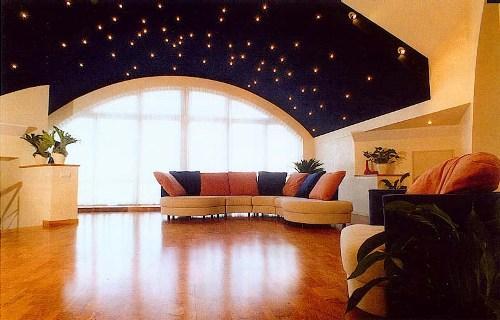 Потолок в гостиной. Фото 10