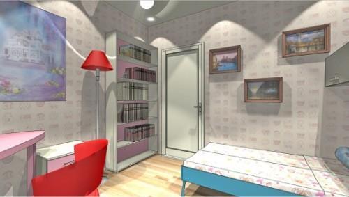 Проект детской комнаты для девочки. Фото 5