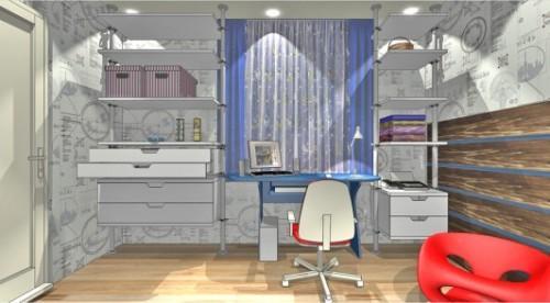 Проект детской комнаты для мальчика. Фото 2