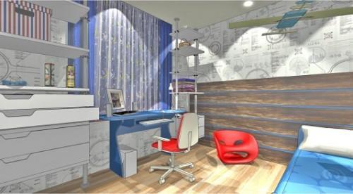 Проект детской комнаты для мальчика. Фото 3