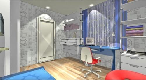 Проект детской комнаты для мальчика. Фото 4