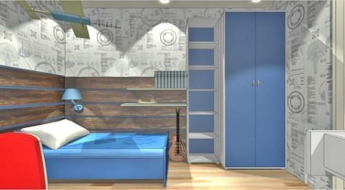Проект детской комнаты для мальчика. Фото 6