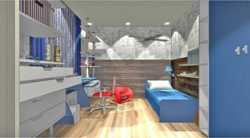 Проект детской комнаты для мальчика. Фото 7