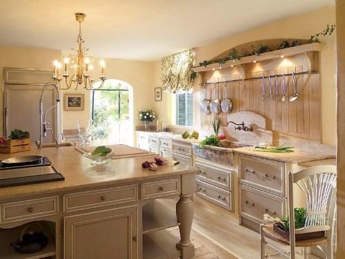 Прованс стиль в интерьере кухни