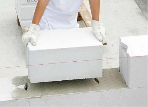 Размеры газоблока для стен