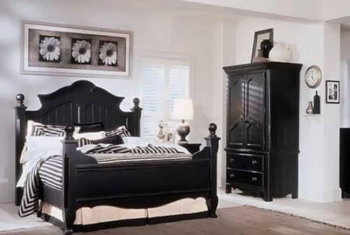 Ретро стиль в интерьере спальни