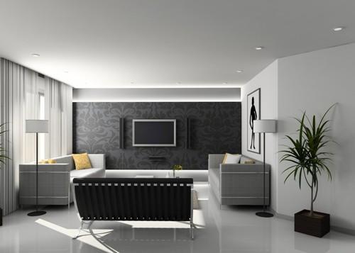 Серый цвет в интерьере. Фото 8