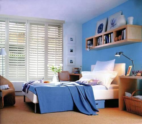 Синий цвет в интерьере. Фото 6