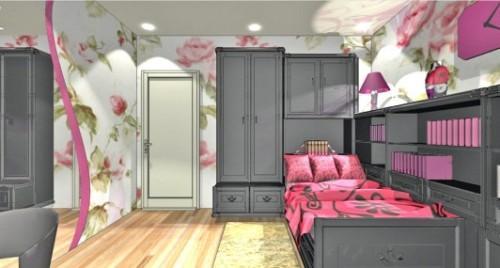 Спальня для девушки. Фото 2