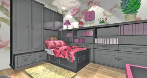 Спальня для девушки. Фото 3