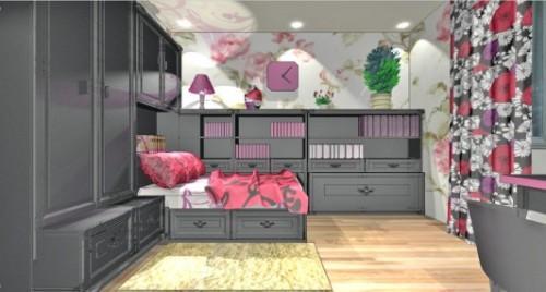 Спальня для девушки. Фото 4