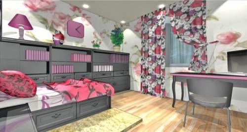 Спальня для девушки. Фото 5