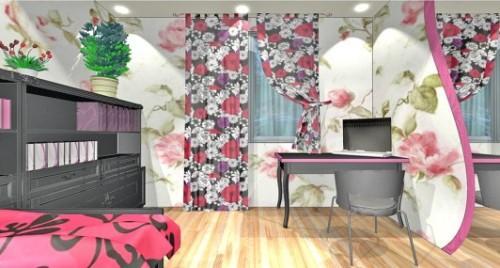 Спальня для девушки. Фото 6