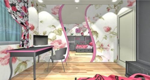 Спальня для девушки. Фото 9