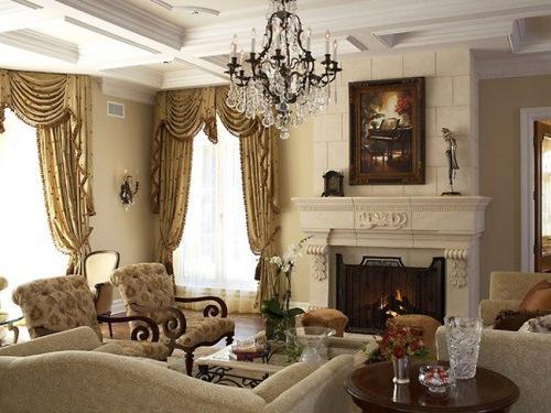 Викторианский стиль в интерьере. Фото 18