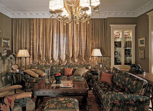 Викторианский стиль в интерьере. Фото 21