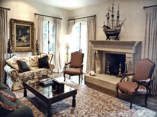 Викторианский стиль в интерьере. Фото 24