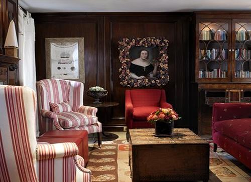 Викторианский стиль в интерьере. Фото 8