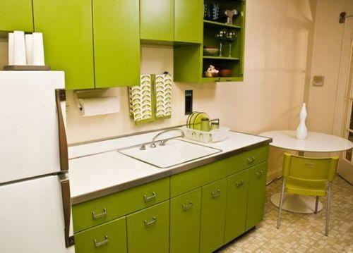 Зеленый цвет в интерьере. Фото 15