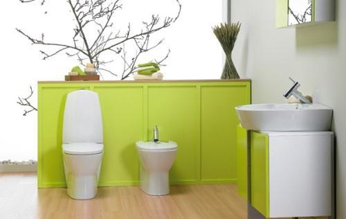 Зеленый цвет в интерьере. Фото 17