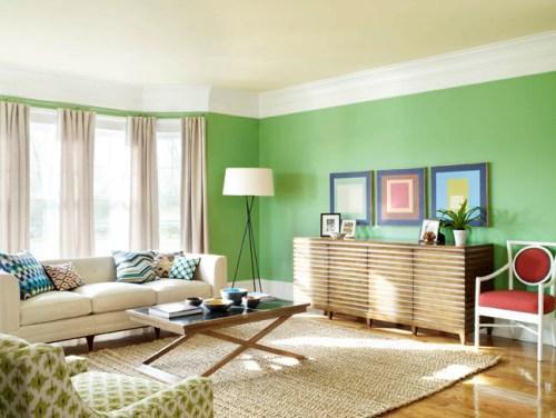 Зеленый цвет в интерьере. Фото 20