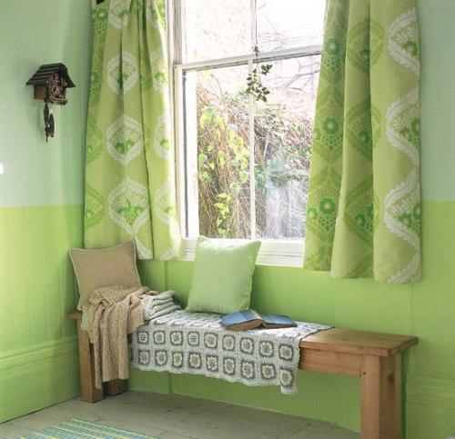 Зеленый цвет в интерьере. Фото 5