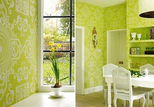 Зеленый цвет в интерьере. Фото 7