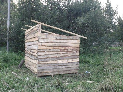 Деревянный сарай своими руками. Фото 10
