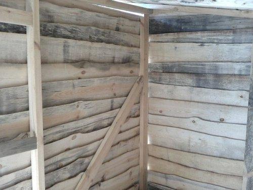 Деревянный сарай своими руками. Фото 14