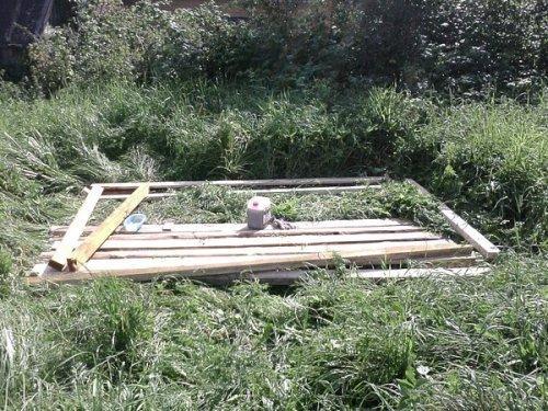 Деревянный сарай своими руками. Фото 3