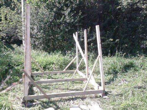 Деревянный сарай своими руками. Фото 5