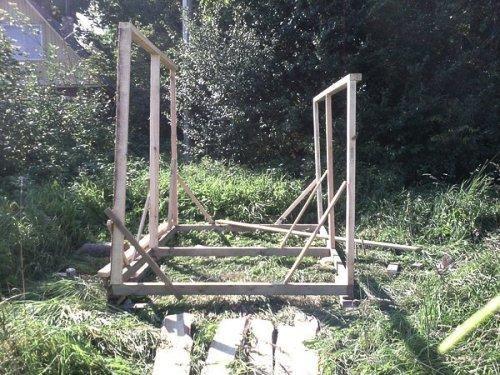 Деревянный сарай своими руками. Фото 7