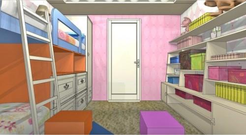 Детская комната для двух девочек. Фото 5