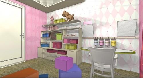Детская комната для двух девочек. Фото 6